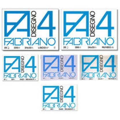 Immagine di Album Fabriano F4 ruvido 24X33 20fg 200gr