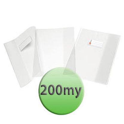 Immagine di Copertina per quaderni A4 200 micron trasparente