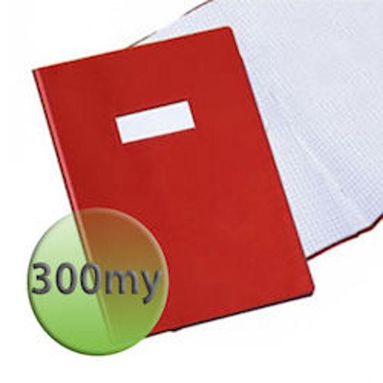 Immagine di Copertina per quaderni A4 300 micron rossa