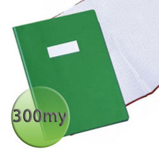 Immagine di Copertina per quaderni A4 300 micron verde