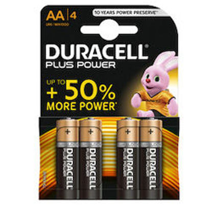 Immagine di Duracell Plus Power AA LR6 mini1500