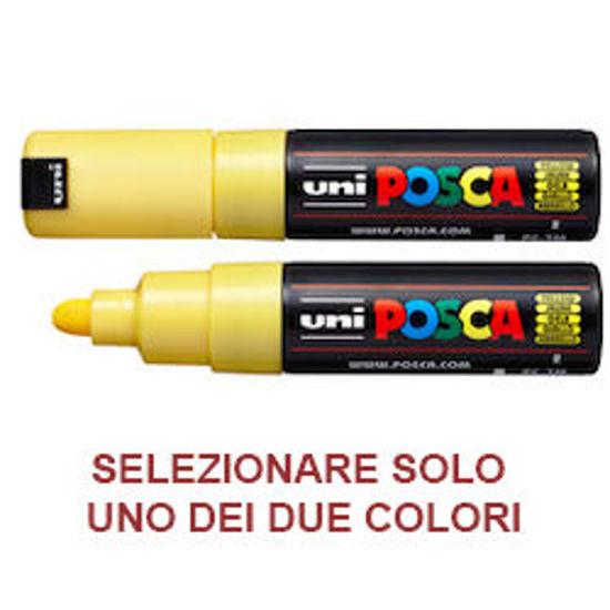 Immagine di Marcatore UNI POSCA PC7M p.large 4,5-5,5mm giallo