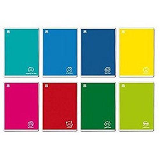 Immagine di Quaderno A4 Colorface a righe 3a elem. con margine 100gr