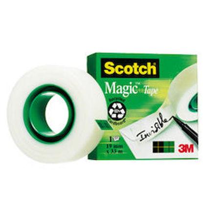 Immagine di Scotch Magic Tape 810 19mmX33m