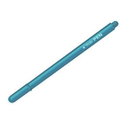 Immagine di tratto pen azzurro